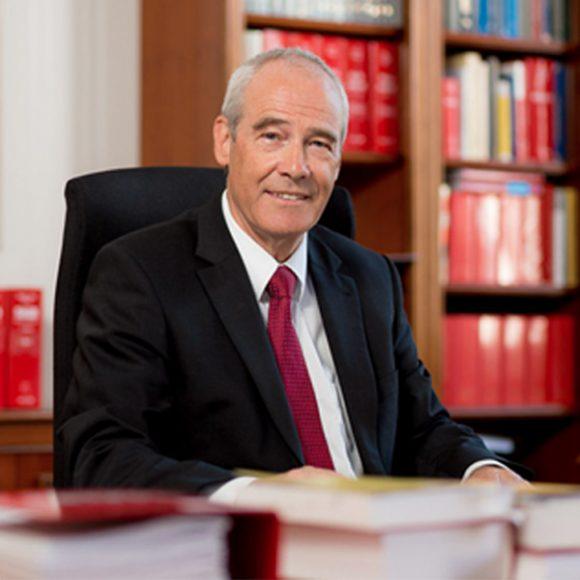 Portrait: <p>Hon.-Prof. Dr. Eckart RATZ<br /> President of The Supreme Court of Justice</p>