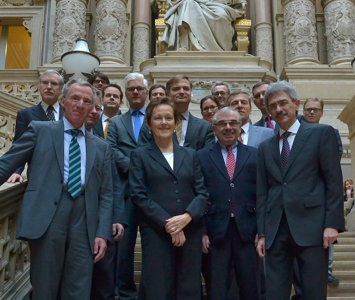 Illustration: Arbeitsbesuch vom deutschen Bundesgerichtshof
