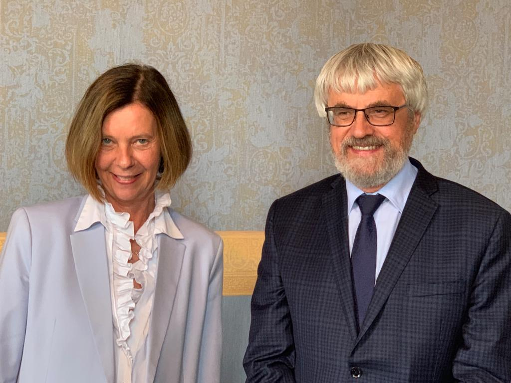 Hon.-Prov. Dr. Lovrek und Prof. Dr. Šámal
