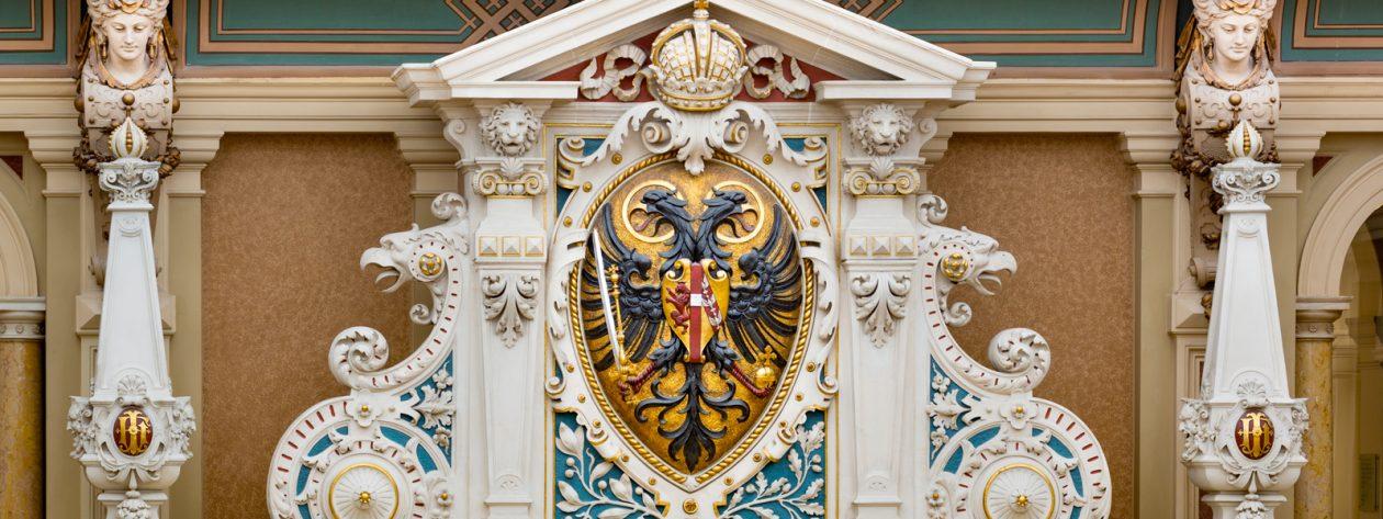 Justizpalast in Wien, Innenansicht