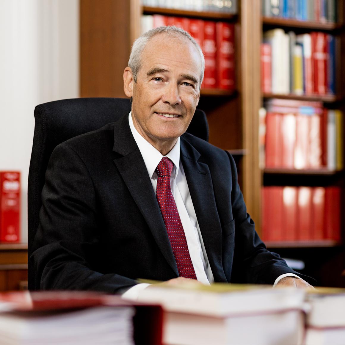Portrait: <p>Hon.-Prof. Dr. Eckart RATZ<br /> Präsident des Obersten Gerichtshofs</p>