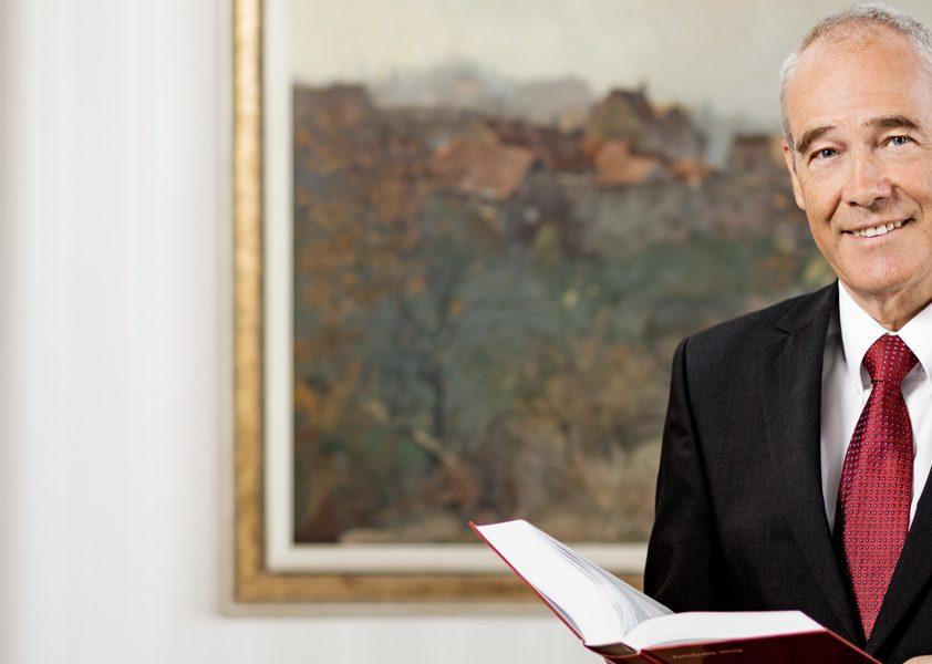 Illustration: Liste der Präsidenten des OGH