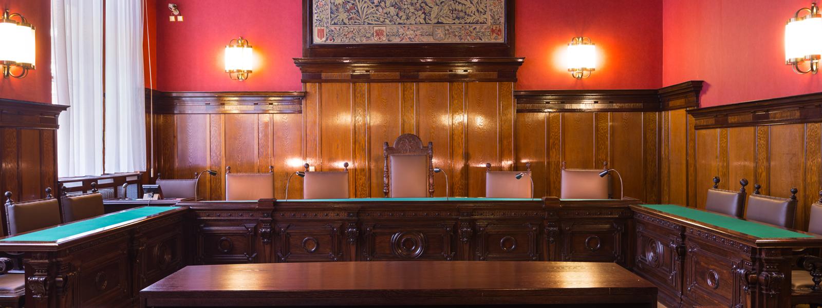 Justizpalast in Wien, Gerichtssaal
