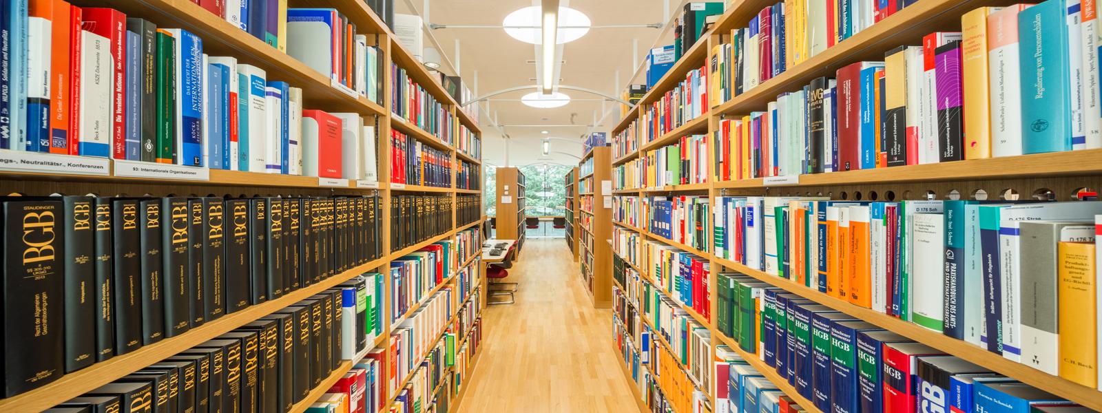 Foto der Bibliothek