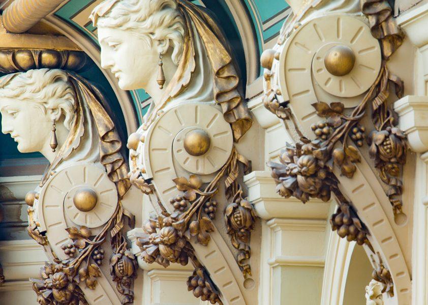 Justizpalast in Wien, Innenansicht (Details)