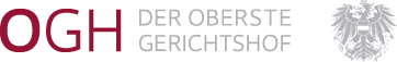 Logo: Oberster Gerichtshof